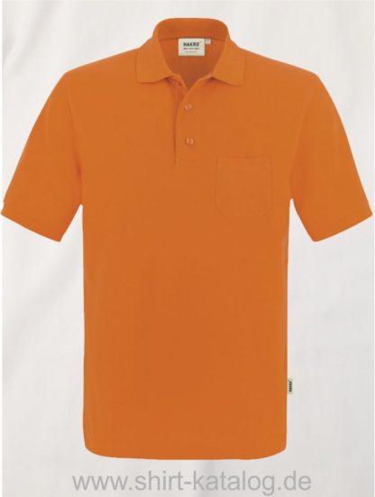 15864-Pocket-Poloshirt MIKRALINAR-812-orange