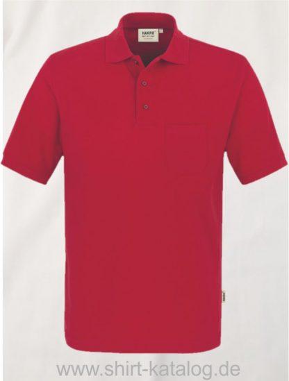 15864-Pocket-Poloshirt MIKRALINAR-812-rot