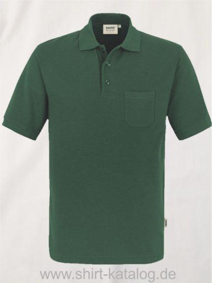 15864-Pocket-Poloshirt MIKRALINAR-812-tanne