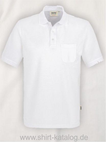 15864-Pocket-Poloshirt MIKRALINAR-812-white