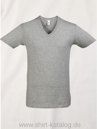 16798-Sols-Short-Sleeve-Tee-Shirt-Master-Graumeliert