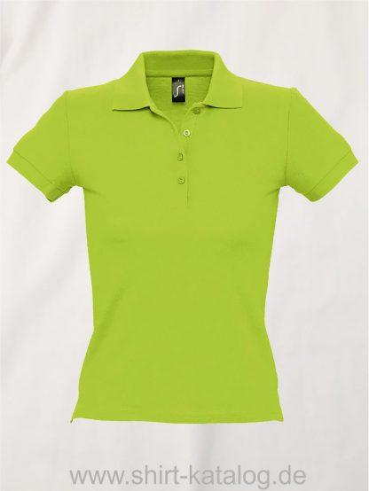 16876-Sols-Ladies-Basic-Poloshirt-Baumwolle-apple-green