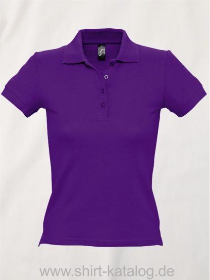 16876-Sols-Ladies-Basic-Poloshirt-Baumwolle-dark-purple
