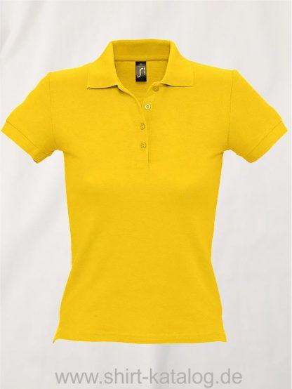 16876-Sols-Ladies-Basic-Poloshirt-Baumwolle-gold