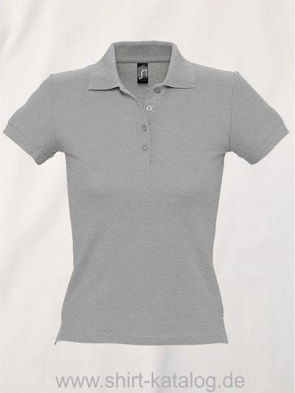 16876-Sols-Ladies-Basic-Poloshirt-Baumwolle-grey-melange