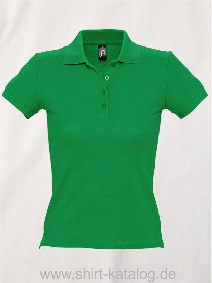 16876-Sols-Ladies-Basic-Poloshirt-Baumwolle-kelly-green