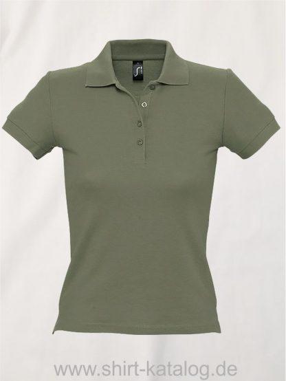 16876-Sols-Ladies-Basic-Poloshirt-Baumwolle-khaki