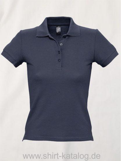 16876-Sols-Ladies-Basic-Poloshirt-Baumwolle-navy