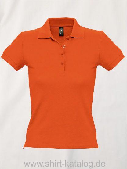 16876-Sols-Ladies-Basic-Poloshirt-Baumwolle-orange