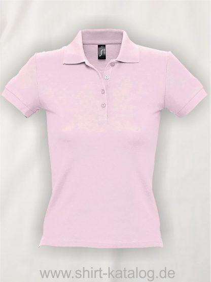 16876-Sols-Ladies-Basic-Poloshirt-Baumwolle-pale-pink