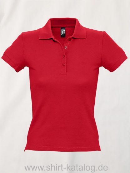 16876-Sols-Ladies-Basic-Poloshirt-Baumwolle-red