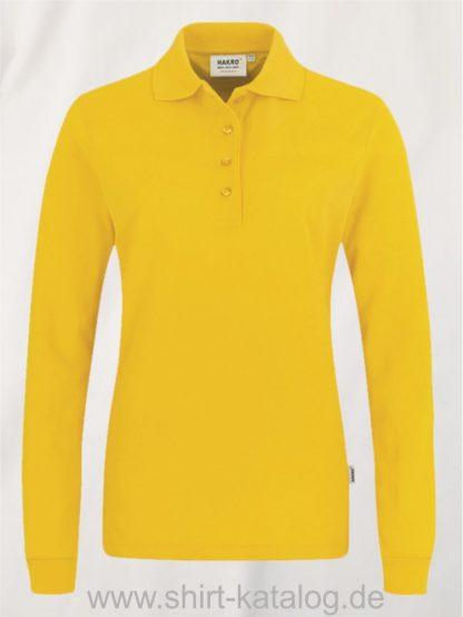 18183-Women-Longsleeve-Poloshirt MIKRALINAR-215-sonne