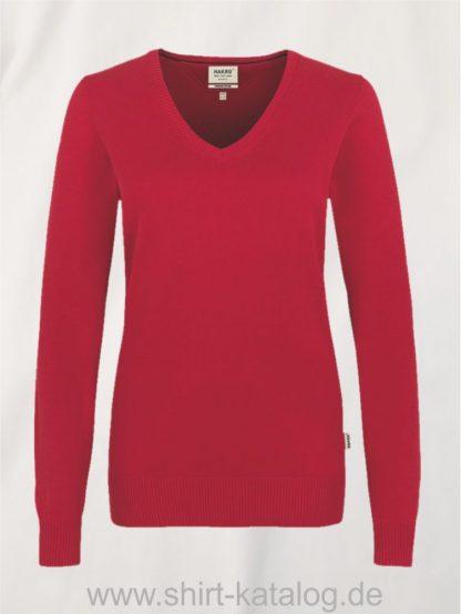 18368-hakro-women-v-pullover-premium-cotton-133-rot