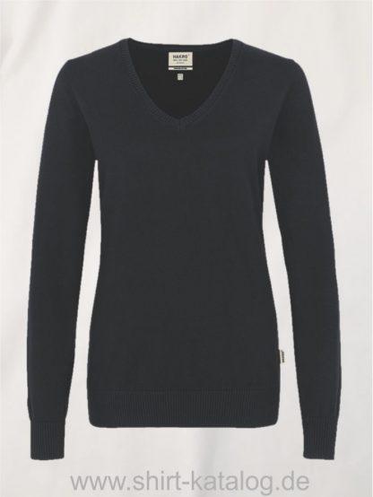 18368-hakro-women-v-pullover-premium-cotton-133-schwarz