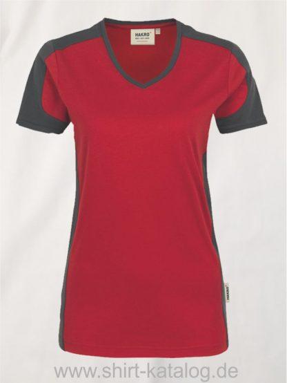 21327-hakro-women-v-shirt-contrast-mikralinar-190-rot-anthrazit