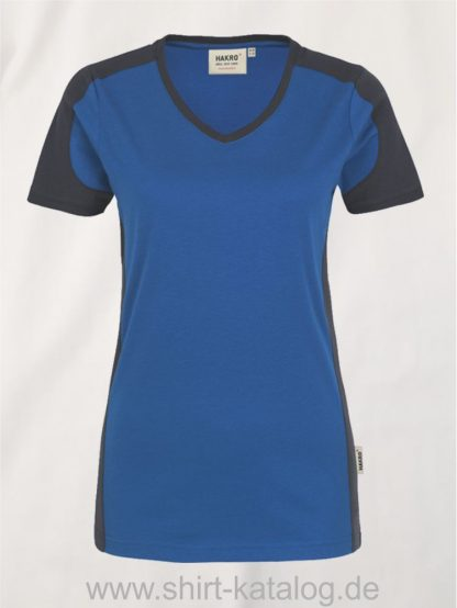 21327-hakro-women-v-shirt-contrast-mikralinar-190-royal-anthrazit
