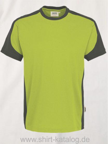 21328-hakro-t-shirt-contrast-mikralinar-contrast-290-kiwi-anthrazit