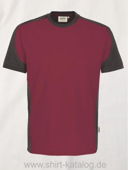 21328-hakro-t-shirt-contrast-mikralinar-contrast-290-weinrot-anthrazit