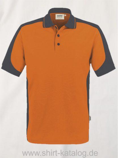 21333-Hakro-Poloshirt-Contrast MIKRALINAR-839-orange