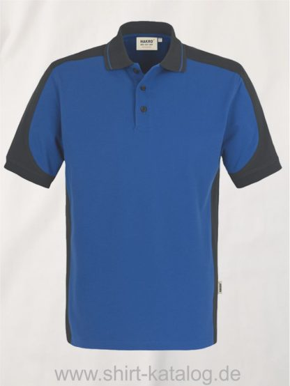 21333-Hakro-Poloshirt-Contrast MIKRALINAR-839-royal