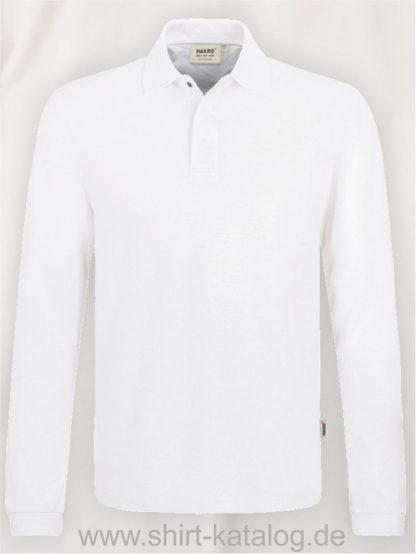 21335-Longsleeve-Poloshirt-HACCP-MIKRALINAR-821-white