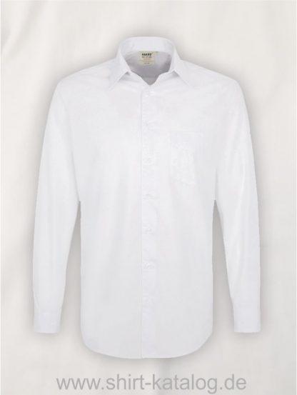 21336-hakro-hemd-1-1-arm-mikralinar-comfort-123-weiß