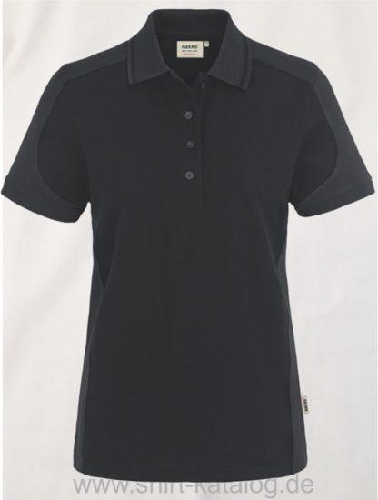 22297-hakro-Women-Poloshirt-Contrast MIKRALINAR-239-black