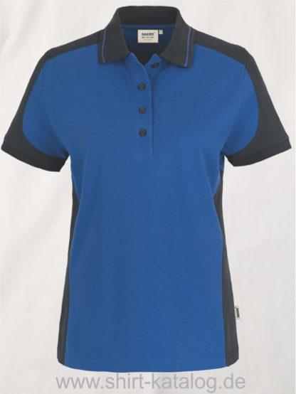 22297-hakro-Women-Poloshirt-Contrast MIKRALINAR-239-royal