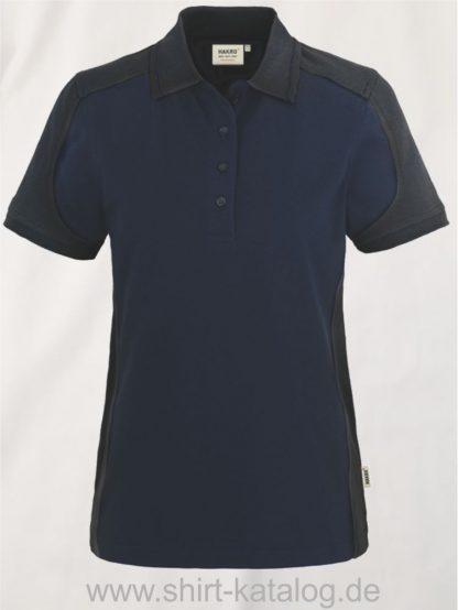 22297-hakro-Women-Poloshirt-Contrast MIKRALINAR-239-tinte