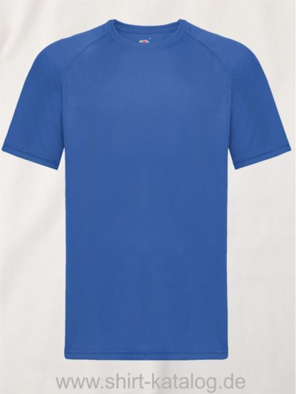 23276-Fruit-Of-The-Loom-Performance-T-Royal-Blue