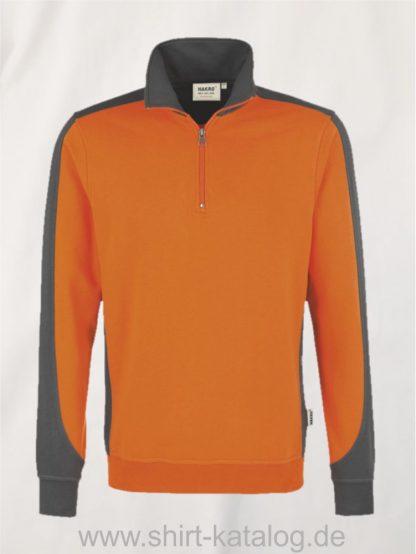 24367-zip-sweatshirt-contrast-mikralinar-476-orange-anthrazit