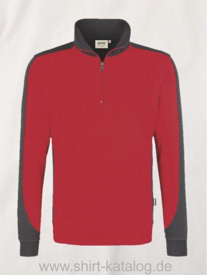 24367-zip-sweatshirt-contrast-mikralinar-476-rot-anthrazit