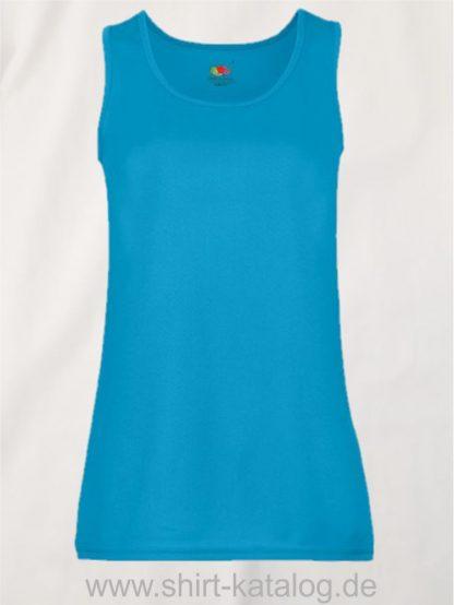 26028-Fruit-Of-The-Loom-Performance-Vest-Lady-Fit-Azure-Blue