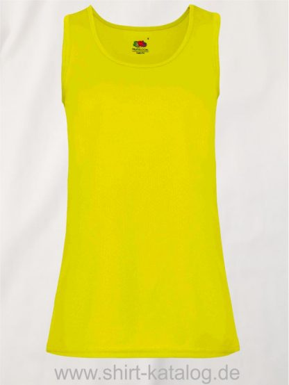 26028-Fruit-Of-The-Loom-Performance-Vest-Lady-Fit-Bright-Yellow