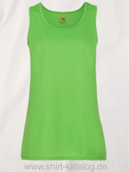26028-Fruit-Of-The-Loom-Performance-Vest-Lady-Fit-Lime