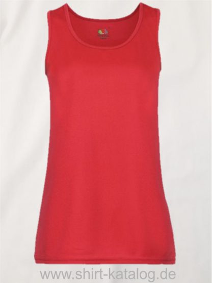 26028-Fruit-Of-The-Loom-Performance-Vest-Lady-Fit-Red
