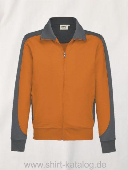 26844-sweatjacke-contrast-mikralinar-477-orange-anthrazit