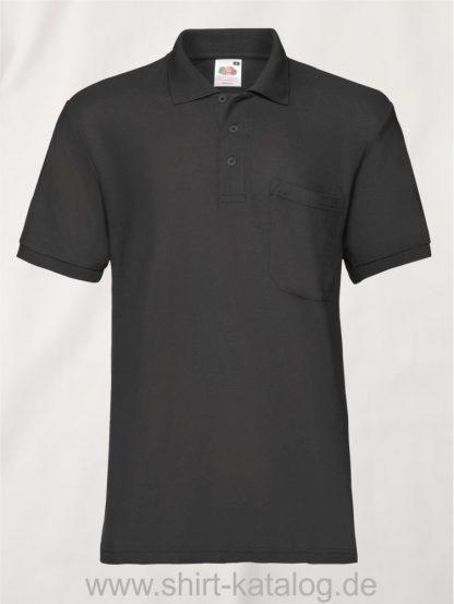 6535-Pocket-Polo-Black
