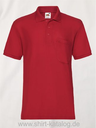 6535-Pocket-Polo-Red
