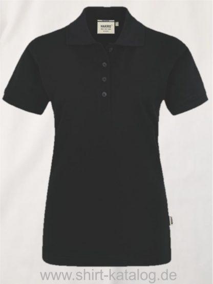 15875-Women-Premium-Poloshirt Pima-Cotton-201-Schwarz