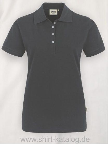 15876-hakro-Women-Poloshirt Stretch-222-anthrazit