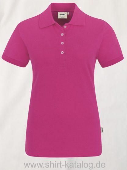15876-hakro-Women-Poloshirt Stretch-222-magenta