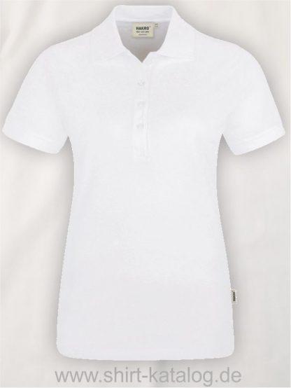 15876-hakro-Women-Poloshirt Stretch-222-white