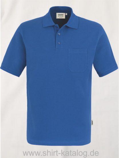 15884-Hakro-Pocket-Poloshirt-Top-802-Royal
