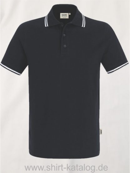 15886-Poloshirt Twin-Stripe-805-black-weiss
