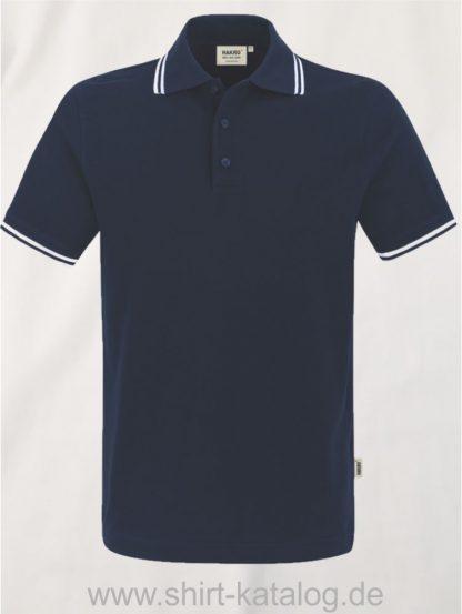 15886-Poloshirt Twin-Stripe-805-tinte-weiss