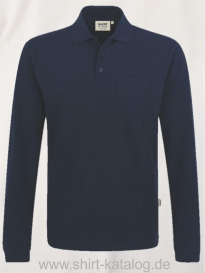 15887-Longsleeve-Pocket-Poloshirt-Top-809-tinte
