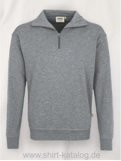 15906-zip-sweatshirt-premium-451-graumeliert