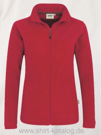 15915-Women-Fleece-Jacke-Delta-240-Rot