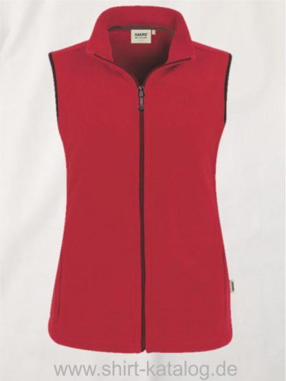15916-Women-Fleece-Weste-Ottawa-241-Rot